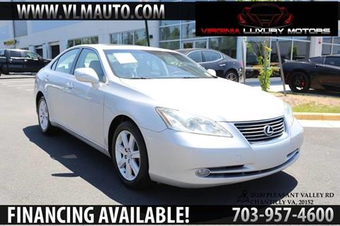2007 Lexus ES 350 for sale at Used Imports Auto - Virginia Luxury Motors in Chantilly GA