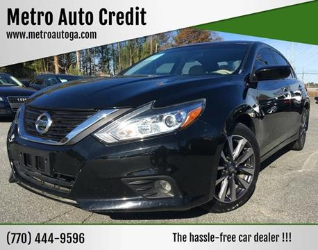 2016 Nissan Altima for sale at Used Imports Auto - Metro Auto Credit in Smyrna GA