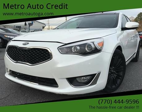 2014 Kia Cadenza for sale at Used Imports Auto - Metro Auto Credit in Smyrna GA