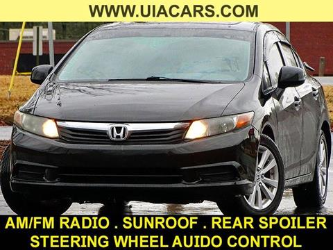 2012 Honda Civic for sale at Used Imports Auto - Lawrenceville in Lawrenceville GA