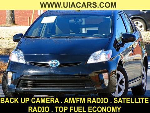 2015 Toyota Prius for sale at Used Imports Auto - Lawrenceville in Lawrenceville GA
