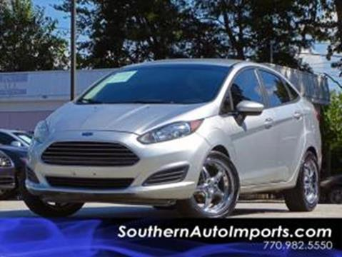 2015 Ford Fiesta for sale at Used Imports Auto - Southern Auto Imports in Stone Mountain GA