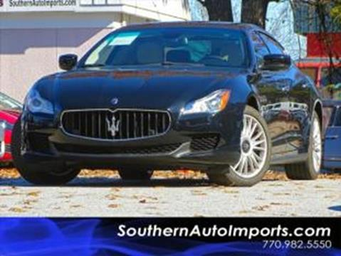 2014 Maserati Quattroporte for sale at Used Imports Auto - Southern Auto Imports in Stone Mountain GA
