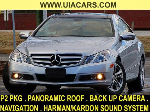 2010 Mercedes-Benz E-Class for sale at Used Imports Auto - Lawrenceville in Lawrenceville GA