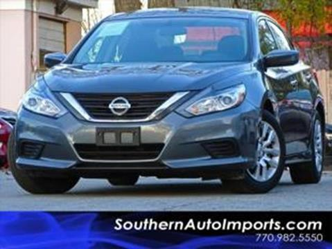 2016 Nissan Altima for sale at Used Imports Auto - Southern Auto Imports in Stone Mountain GA