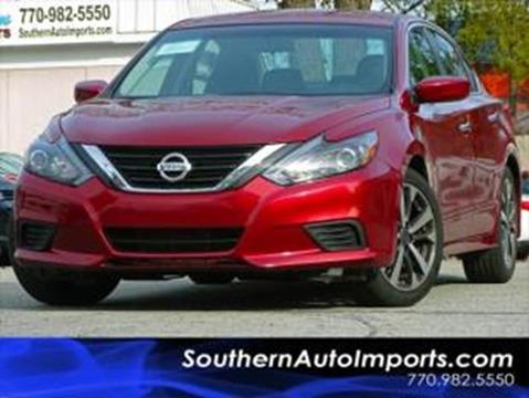 2017 Nissan Altima for sale at Used Imports Auto - Southern Auto Imports in Stone Mountain GA