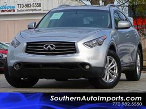 2013 Infiniti FX37 for sale at Used Imports Auto - Southern Auto Imports in Stone Mountain GA