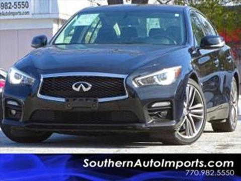 2015 Infiniti Q50 Hybrid for sale at Used Imports Auto - Southern Auto Imports in Stone Mountain GA