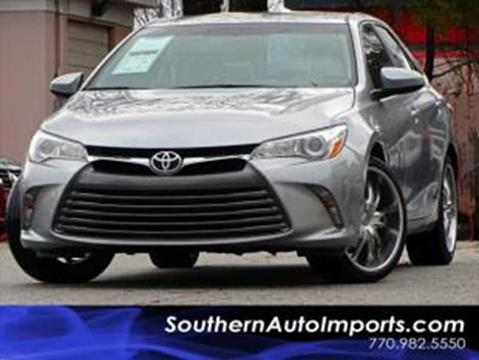 2016 Toyota Camry for sale at Used Imports Auto - Southern Auto Imports in Stone Mountain GA