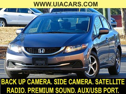 2015 Honda Civic for sale at Used Imports Auto - Lawrenceville in Lawrenceville GA