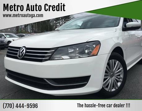 2015 Volkswagen Passat for sale at Used Imports Auto - Metro Auto Credit in Smyrna GA
