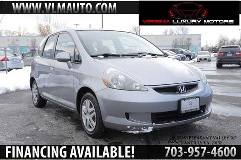 2008 Honda Fit for sale at Used Imports Auto - Virginia Luxury Motors in Chantilly GA