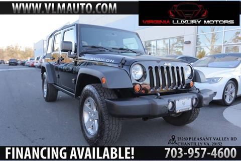 2010 Jeep Wrangler Unlimited for sale at Used Imports Auto - Virginia Luxury Motors in Chantilly GA