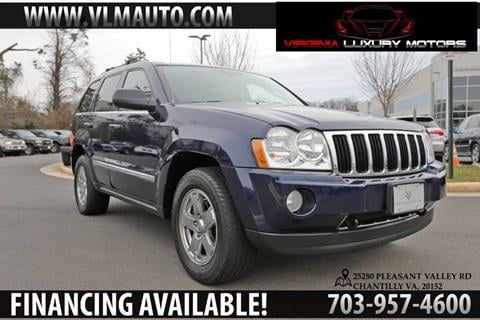2005 Jeep Grand Cherokee for sale at Used Imports Auto - Virginia Luxury Motors in Chantilly GA