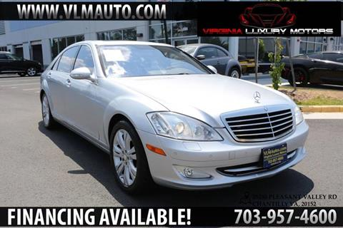 2009 Mercedes-Benz S-Class for sale at Used Imports Auto - Virginia Luxury Motors in Chantilly GA