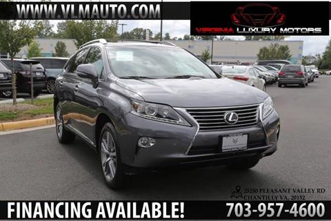 2015 Lexus RX 350 for sale at Used Imports Auto - Virginia Luxury Motors in Chantilly GA