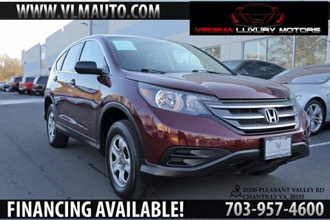 2014 Honda CR-V for sale at Used Imports Auto - Virginia Luxury Motors in Chantilly GA