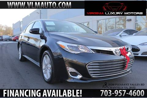2015 Toyota Avalon for sale at Used Imports Auto - Virginia Luxury Motors in Chantilly GA