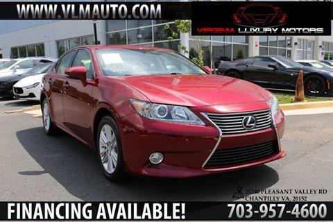 2015 Lexus ES 350 for sale at Used Imports Auto - Virginia Luxury Motors in Chantilly GA