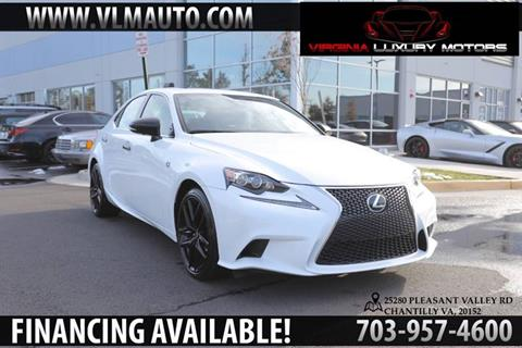 2015 Lexus IS 250 for sale at Used Imports Auto - Virginia Luxury Motors in Chantilly GA