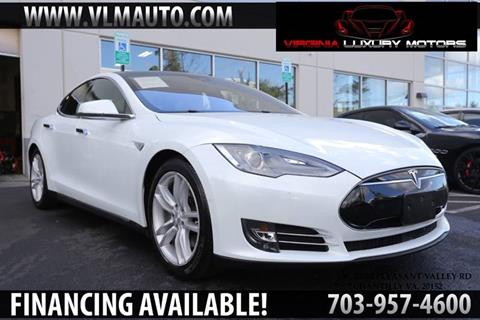 2015 Tesla Model S for sale at Used Imports Auto - Virginia Luxury Motors in Chantilly GA