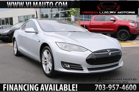 2013 Tesla Model S for sale at Used Imports Auto - Virginia Luxury Motors in Chantilly GA