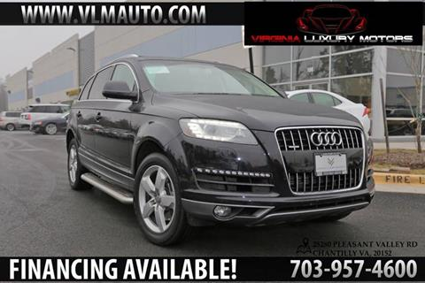 2012 Audi Q7 for sale at Used Imports Auto - Virginia Luxury Motors in Chantilly GA