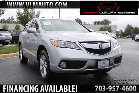 2015 Acura RDX for sale at Used Imports Auto - Virginia Luxury Motors in Chantilly GA