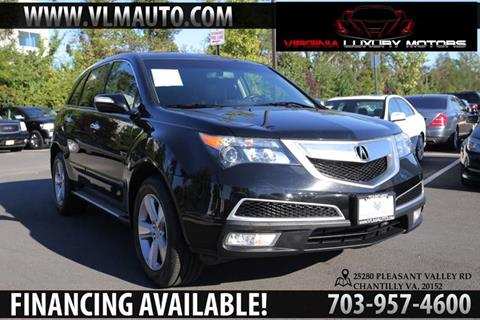 2013 Acura MDX for sale at Used Imports Auto - Virginia Luxury Motors in Chantilly GA