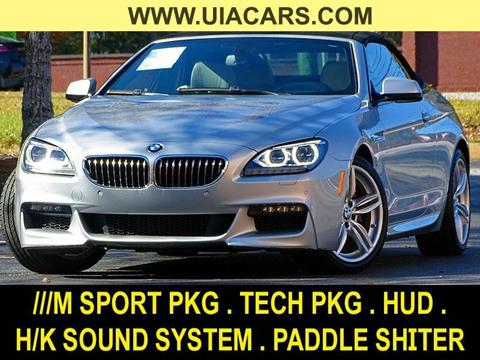 2015 BMW 6 Series for sale at Used Imports Auto - Lawrenceville in Lawrenceville GA