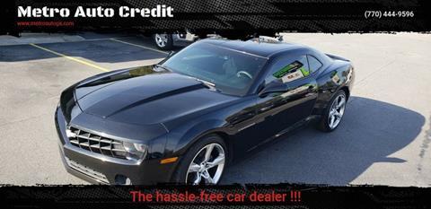 2013 Chevrolet Camaro for sale at Used Imports Auto - Metro Auto Credit in Smyrna GA