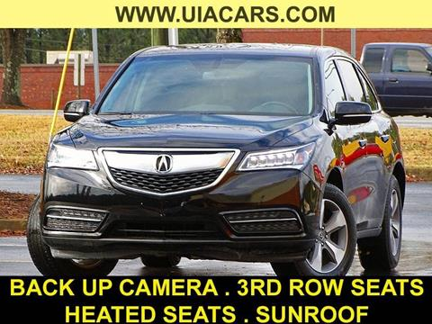 2014 Acura MDX for sale at Used Imports Auto - Lawrenceville in Lawrenceville GA