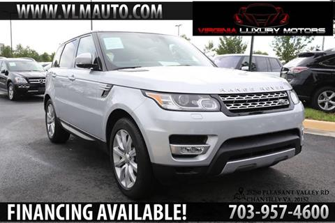 2014 Land Rover Range Rover Sport for sale at Used Imports Auto - Virginia Luxury Motors in Chantilly GA