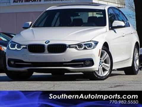2016 BMW 3 Series for sale at Used Imports Auto - Southern Auto Imports in Stone Mountain GA
