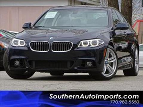 2016 BMW 5 Series for sale at Used Imports Auto - Southern Auto Imports in Stone Mountain GA