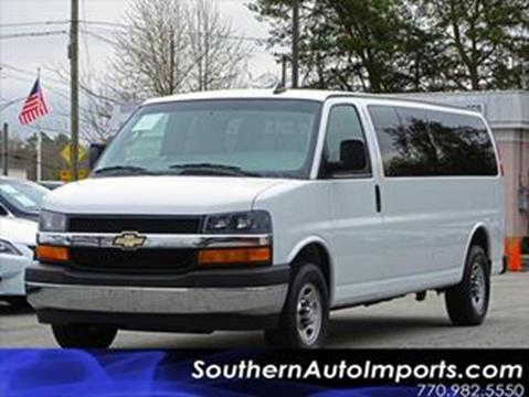 2017 Chevrolet Express Passenger for sale at Used Imports Auto - Southern Auto Imports in Stone Mountain GA