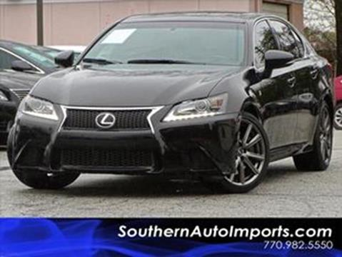 2015 Lexus GS 350 for sale at Used Imports Auto - Southern Auto Imports in Stone Mountain GA
