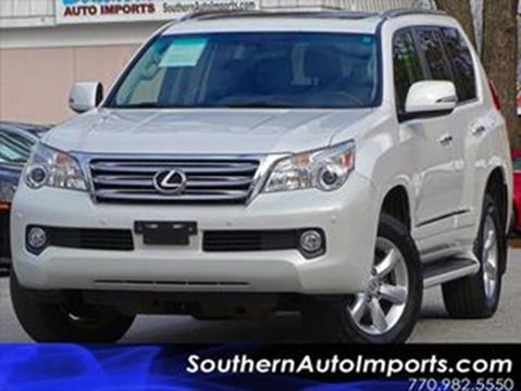 2013 Lexus GX 460 for sale at Used Imports Auto - Southern Auto Imports in Stone Mountain GA