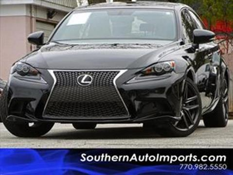 2015 Lexus IS 250 for sale at Used Imports Auto - Southern Auto Imports in Stone Mountain GA