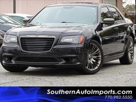 2014 Chrysler 300 for sale at Used Imports Auto - Southern Auto Imports in Stone Mountain GA