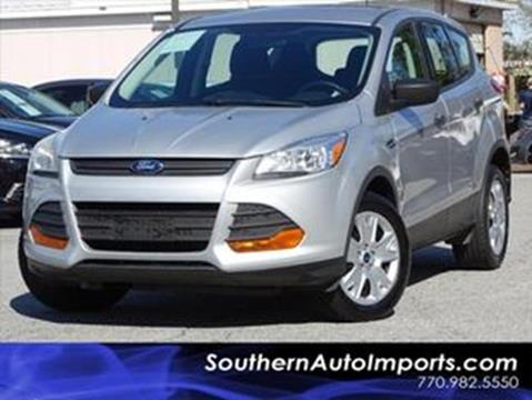 2013 Ford Escape for sale at Used Imports Auto - Southern Auto Imports in Stone Mountain GA