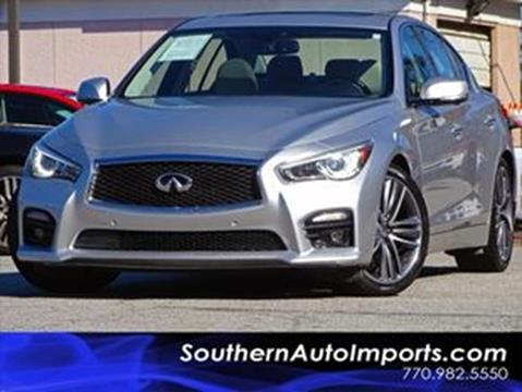 2014 Infiniti Q50 Hybrid for sale at Used Imports Auto - Southern Auto Imports in Stone Mountain GA