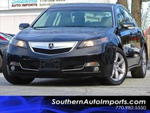 2013 Acura TL for sale at Used Imports Auto - Southern Auto Imports in Stone Mountain GA