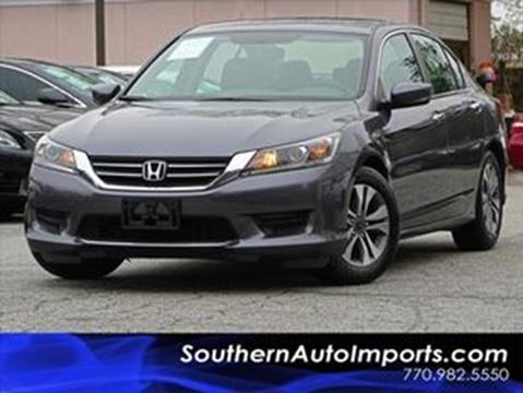 2014 Honda Accord for sale at Used Imports Auto - Southern Auto Imports in Stone Mountain GA
