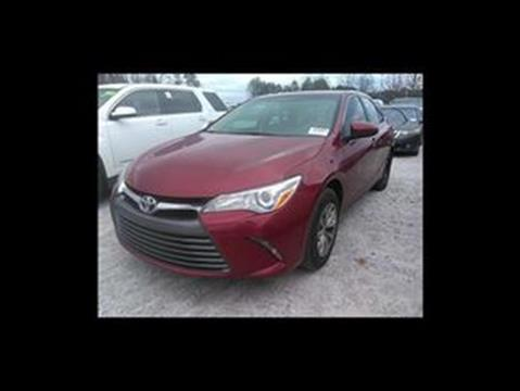 2017 Toyota Camry for sale at Used Imports Auto - Southern Auto Imports in Stone Mountain GA