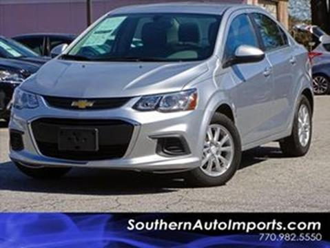 2017 Chevrolet Sonic for sale at Used Imports Auto - Southern Auto Imports in Stone Mountain GA
