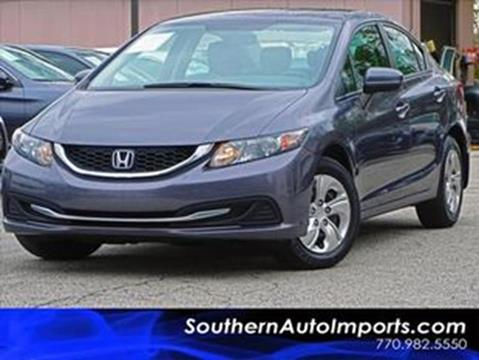 2015 Honda Civic for sale at Used Imports Auto - Southern Auto Imports in Stone Mountain GA