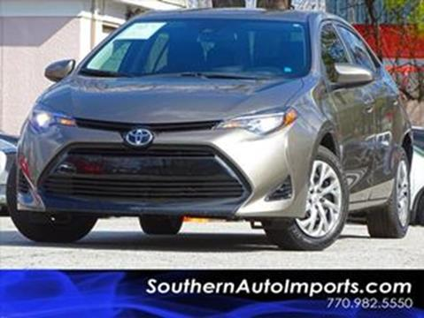 2017 Toyota Corolla for sale at Used Imports Auto - Southern Auto Imports in Stone Mountain GA