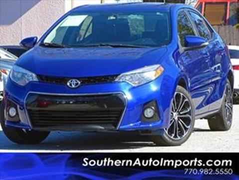 2014 Toyota Corolla for sale at Used Imports Auto - Southern Auto Imports in Stone Mountain GA