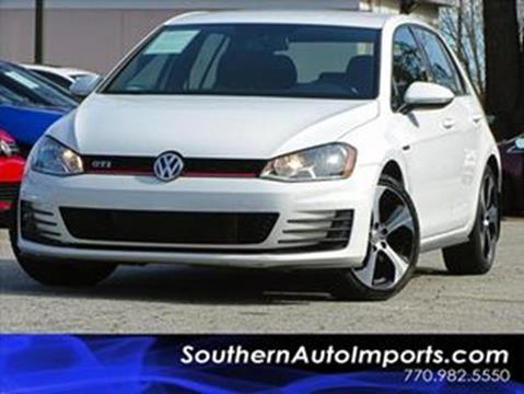 2016 Volkswagen Golf GTI for sale at Used Imports Auto - Southern Auto Imports in Stone Mountain GA